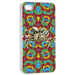 Geometric Multicolored Print Apple Iphone 4/4s Seamless Case (white) by dflcprints
