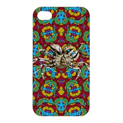 Geometric Multicolored Print Apple Iphone 4/4s Hardshell Case by dflcprints