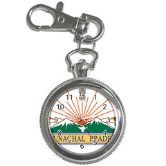 Seal Of Indian State Of Arunachal Pradesh  Key Chain Watches by abbeyz71