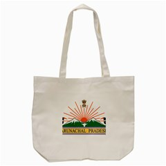 Seal Of Indian State Of Arunachal Pradesh  Tote Bag (cream) by abbeyz71