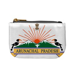 Seal Of Indian State Of Arunachal Pradesh  Mini Coin Purses by abbeyz71
