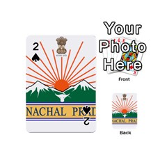 Seal Of Indian State Of Arunachal Pradesh  Playing Cards 54 (mini)  by abbeyz71