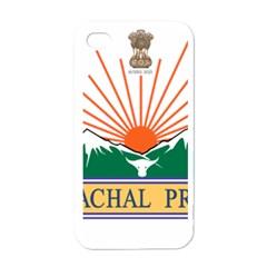 Seal Of Indian State Of Arunachal Pradesh  Apple Iphone 4 Case (white) by abbeyz71