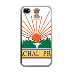 Seal Of Indian State Of Arunachal Pradesh  Apple Iphone 4 Case (clear) by abbeyz71