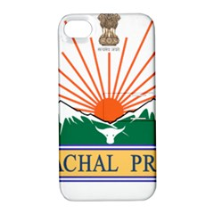 Seal Of Indian State Of Arunachal Pradesh  Apple Iphone 4/4s Hardshell Case With Stand by abbeyz71