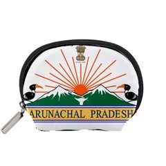 Seal Of Indian State Of Arunachal Pradesh  Accessory Pouches (small)  by abbeyz71