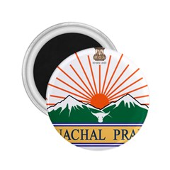 Indian State Of Arunachal Pradesh Seal 2 25  Magnets by abbeyz71
