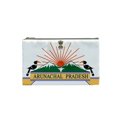 Indian State Of Arunachal Pradesh Seal Cosmetic Bag (small)  by abbeyz71