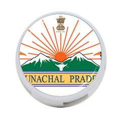 Indian State Of Arunachal Pradesh Seal 4 Port Usb Hub (one Side) by abbeyz71