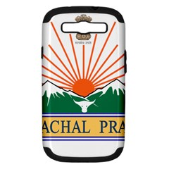 Indian State Of Arunachal Pradesh Seal Samsung Galaxy S Iii Hardshell Case (pc+silicone) by abbeyz71