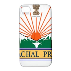 Indian State Of Arunachal Pradesh Seal Apple Iphone 4/4s Hardshell Case With Stand by abbeyz71