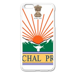 Indian State Of Arunachal Pradesh Seal Apple Iphone 6 Plus/6s Plus Enamel White Case by abbeyz71