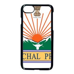Indian State Of Arunachal Pradesh Seal Apple Iphone 7 Seamless Case (black) by abbeyz71