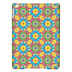Geometric Multicolored Print Ipad Air Hardshell Cases by dflcprints