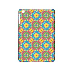 Geometric Multicolored Print Ipad Mini 2 Hardshell Cases by dflcprints