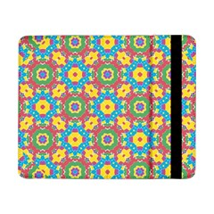 Geometric Multicolored Print Samsung Galaxy Tab Pro 8 4  Flip Case by dflcprints