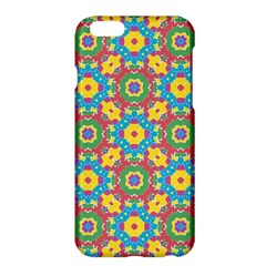 Geometric Multicolored Print Apple Iphone 6 Plus/6s Plus Hardshell Case by dflcprints
