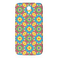 Geometric Multicolored Print Samsung Galaxy Mega I9200 Hardshell Back Case by dflcprints