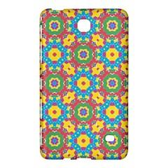 Geometric Multicolored Print Samsung Galaxy Tab 4 (7 ) Hardshell Case  by dflcprints