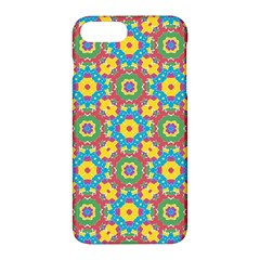 Geometric Multicolored Print Apple Iphone 7 Plus Hardshell Case by dflcprints