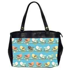 Assorted Birds Pattern Office Handbags (2 Sides)  by linceazul