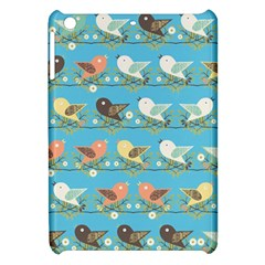 Assorted Birds Pattern Apple Ipad Mini Hardshell Case by linceazul