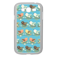 Assorted Birds Pattern Samsung Galaxy Grand Duos I9082 Case (white) by linceazul