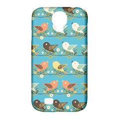 Assorted Birds Pattern Samsung Galaxy S4 Classic Hardshell Case (pc+silicone) by linceazul