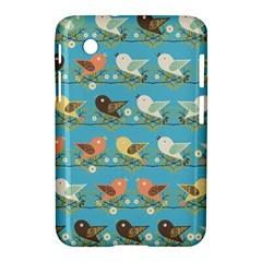 Assorted Birds Pattern Samsung Galaxy Tab 2 (7 ) P3100 Hardshell Case  by linceazul