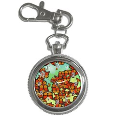 Monarch Butterflies Key Chain Watches by linceazul