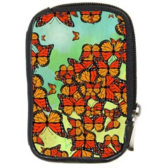 Monarch Butterflies Compact Camera Cases by linceazul