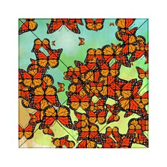 Monarch Butterflies Acrylic Tangram Puzzle (6  X 6 ) by linceazul