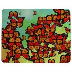 Monarch Butterflies Jigsaw Puzzle Photo Stand (rectangular) by linceazul