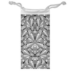 Modern Oriental Ornate Jewelry Bag by dflcprints