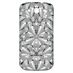 Modern Oriental Ornate Samsung Galaxy S3 S Iii Classic Hardshell Back Case by dflcprints