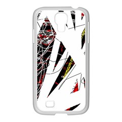Art Samsung Galaxy S4 I9500/ I9505 Case (white) by Valentinaart