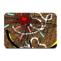 Art Plate Mats by Valentinaart