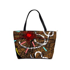 Art Shoulder Handbags by Valentinaart