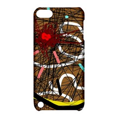 Art Apple Ipod Touch 5 Hardshell Case With Stand by Valentinaart