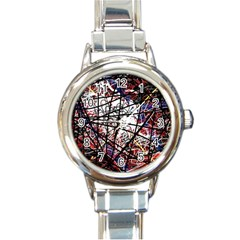 Art Round Italian Charm Watch