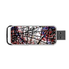 Art Portable Usb Flash (one Side) by Valentinaart