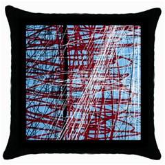 Art Throw Pillow Case (black) by Valentinaart