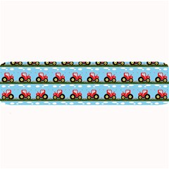 Toy Tractor Pattern Large Bar Mats by linceazul