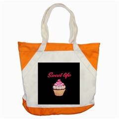 Sweet Life Accent Tote Bag by Valentinaart