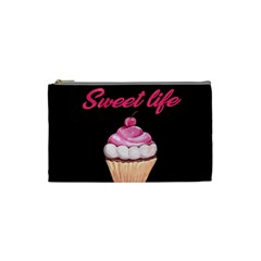 Sweet Life Cosmetic Bag (small)  by Valentinaart