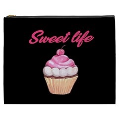Sweet Life Cosmetic Bag (xxxl)  by Valentinaart