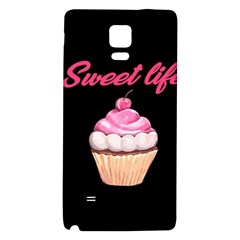 Sweet Life Galaxy Note 4 Back Case by Valentinaart