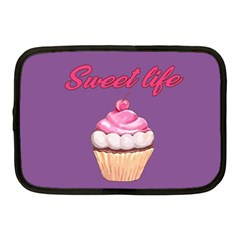 Sweet Life Netbook Case (medium)  by Valentinaart