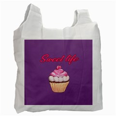 Sweet Life Recycle Bag (one Side) by Valentinaart
