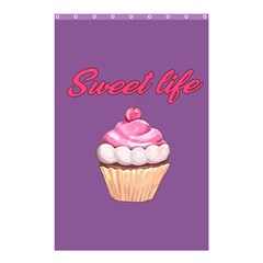 Sweet Life Shower Curtain 48  X 72  (small)  by Valentinaart